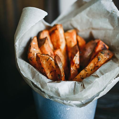 Tasty side of fries on Hutchinson Island