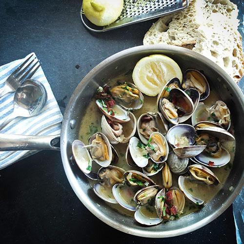 Exquisite seafood